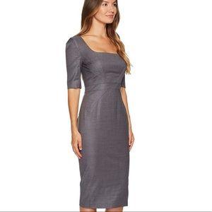 NWT Zac Posen™ Wool Short Sleeve Scoop Neck Dress